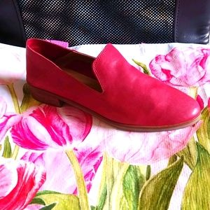 Lucky brand Cahill flats red 8.5 M